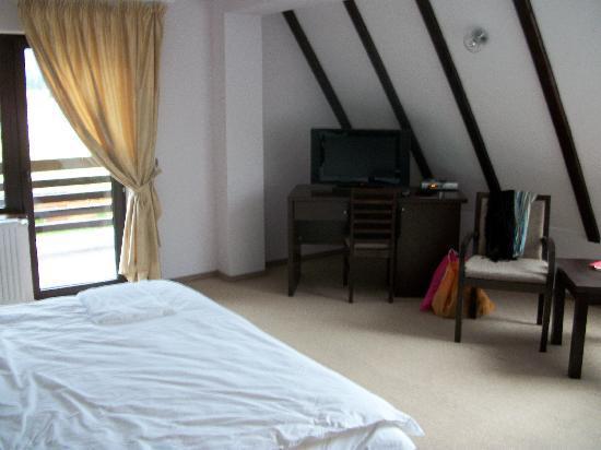 Vila Trapez: room