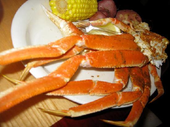 Gulf Shores Steamer : Crab legs!