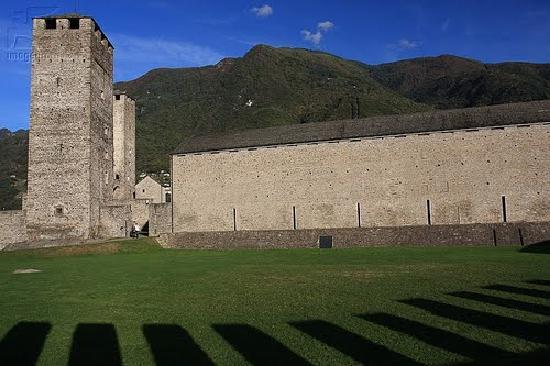 Canton of Ticino, Switzerland: Castelgrande Bellinzona