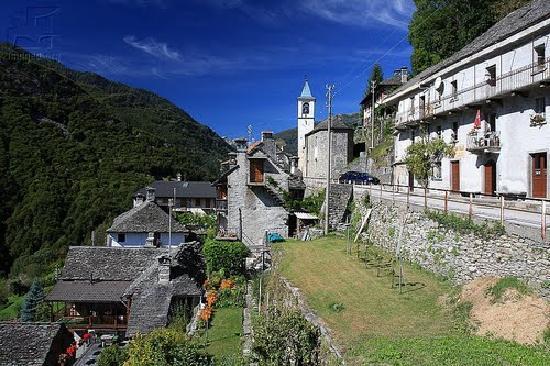 Τιτσίνο, Ελβετία: Mosogno, Ticino