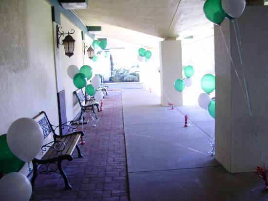 Quality Inn & Suites Conference Center: Entrance to hotel