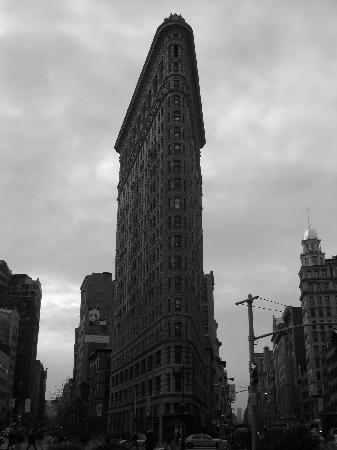 Flatiron Building: From the front