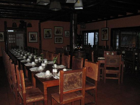 Hacienda Leito: Dining Room