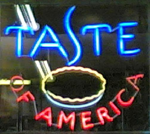 Taste of America: Luces de neón