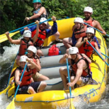 Bingham, ME: Kennebec River Rafting on the Big Water Turbine Test Release