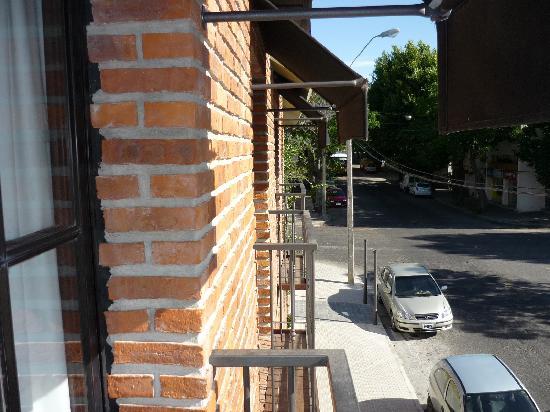 Ayres Hotel: Vista desde el balcón