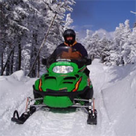 Bingham, ME: Snowmobiling in Maine with North Country Rivers