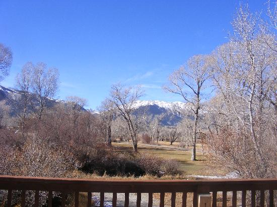 Buffalo Peaks Bed and Breakfast: view from private balcony