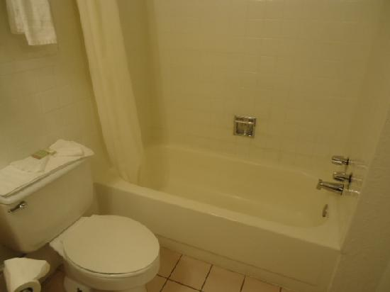 Super 8 Grand Prairie Southwest: Pictures of the rooms and toilets
