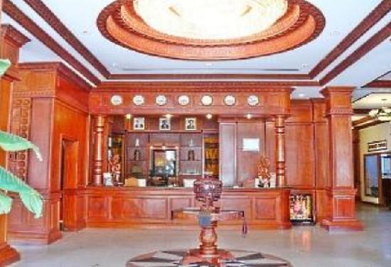 New Angkorland Hotel: Main Lobby