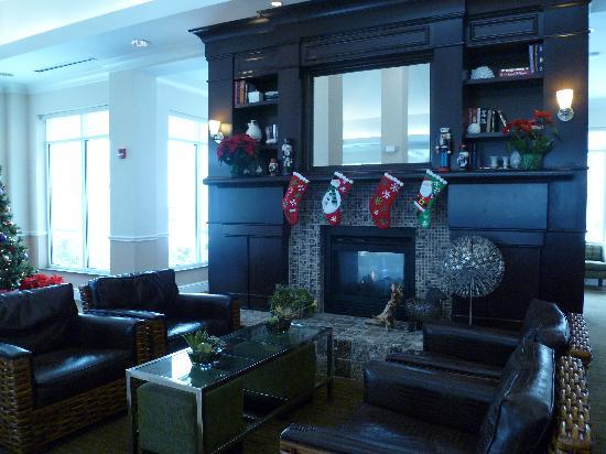 Hilton Garden Inn St Louis Airport: Lobby