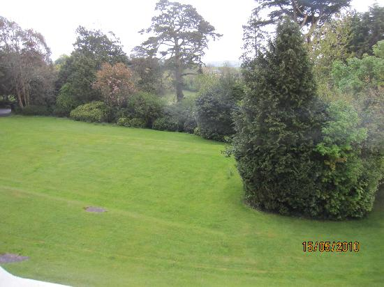 Pencubitt House: The view of the garden from our window