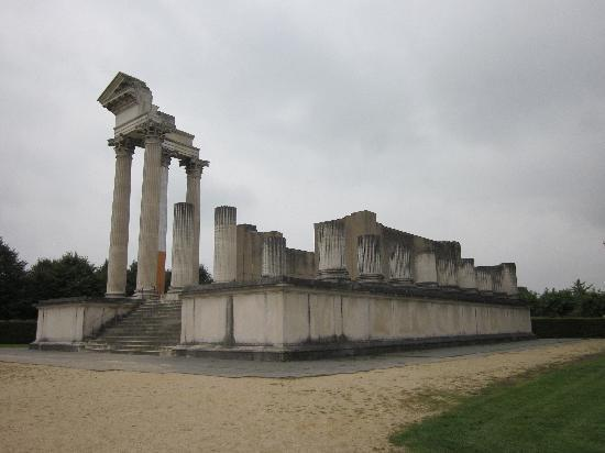 Xanten, Germany: Roman Temple