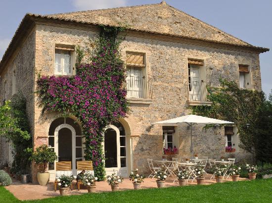 L'Hort de Sant Cebrià: Fachada al jardín