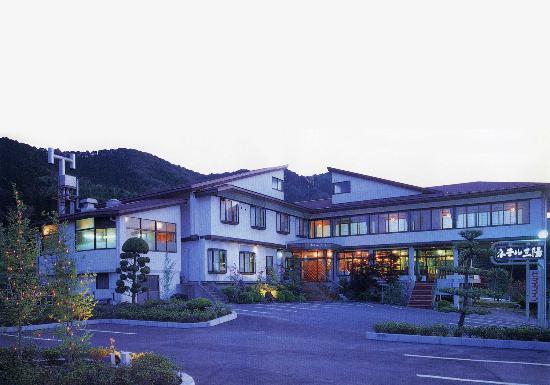 Rikuzentakata, Japonya: 岩手・宮城県の県境、目立つ建物です。
