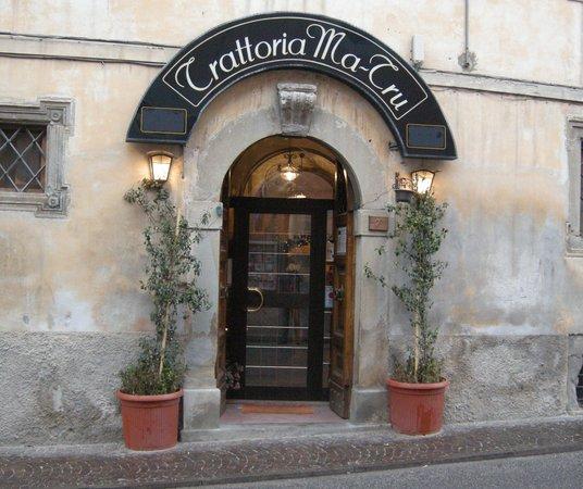 Amatrice, Italy: Entrata del Ma-Trù