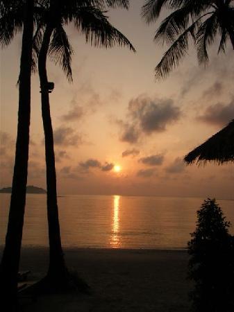 Amari Koh Samui : Sunrise before I went diving.