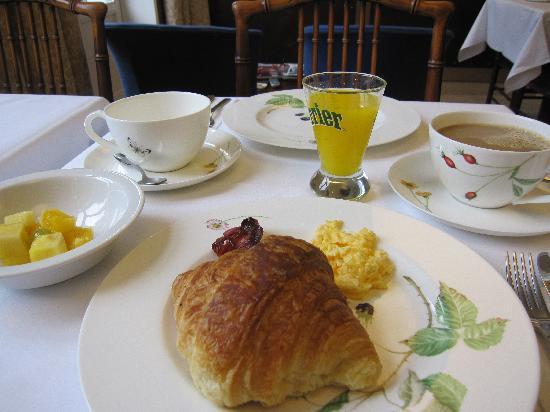 Hotel 't Zand: 朝食