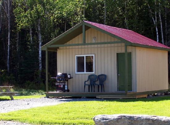 Timmins, Canada: Camping Cabin - rental unit sleeps 2-4
