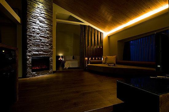 Ardennes Villa: interior of the standard villa