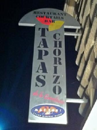 Tapas Chorizo De la Cambusa : Our Sign