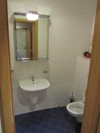 il secondo bagno col wc - Picture of Don Prestige Residence, Poznan ...