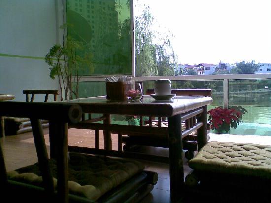 OCHAO Tea House : view