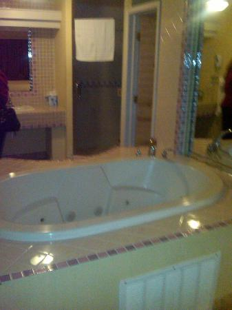 Las Rosas Hotel & Spa: jacuzzi suite room