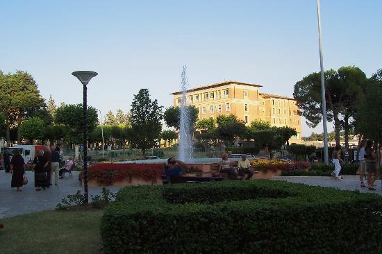 Chianciano Terme, Italie : Piazza Italia