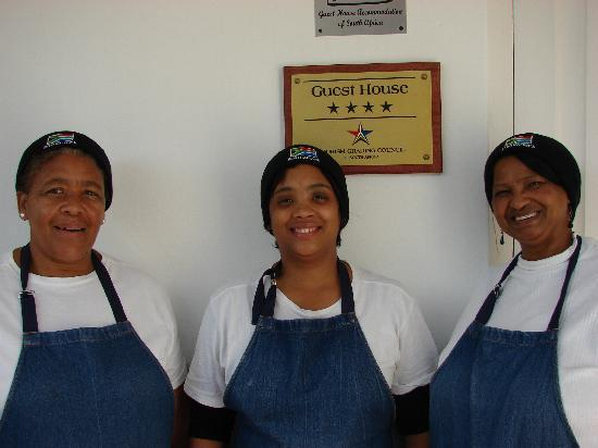 Aan Dorpstraat Guest House: Victoria, Lucinda and Dinah - our wonderful employees