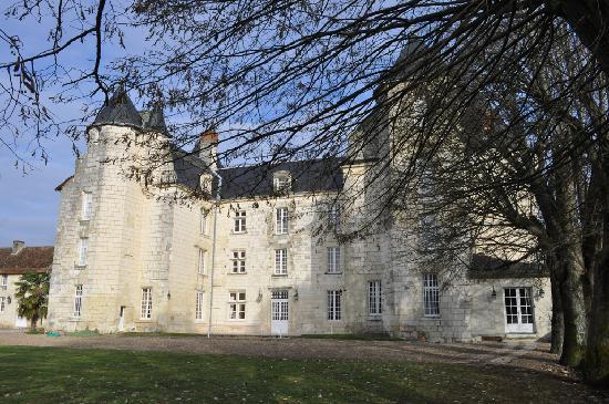 Chateau de Marcay: château du moyen-âge