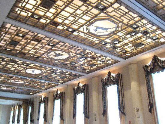 Starlight Room Ceiling Bild Von Waldorf Astoria New York