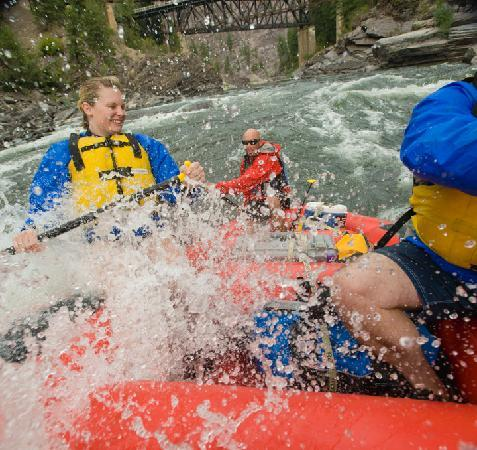 ROW Adventures: Local whitewater rafting