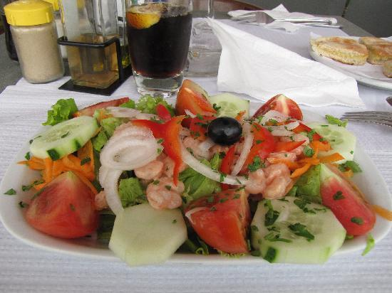 Pestana Miramar Garden Resort Aparthotel: Prawn Salad