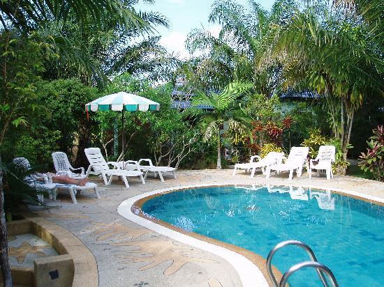 Baan Po Ngam Resort: Pool area