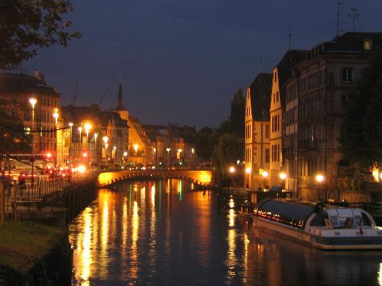 Strasbourg, France: Night Strasburg