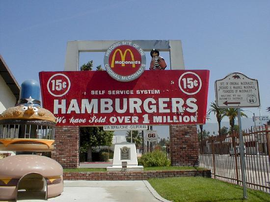 San Bernardino, Californien: Home of 1st McDonald's