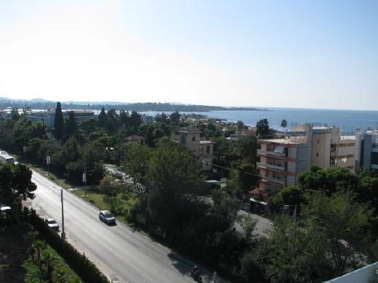 Emmantina Hotel: Ausblick von der Dachterasse
