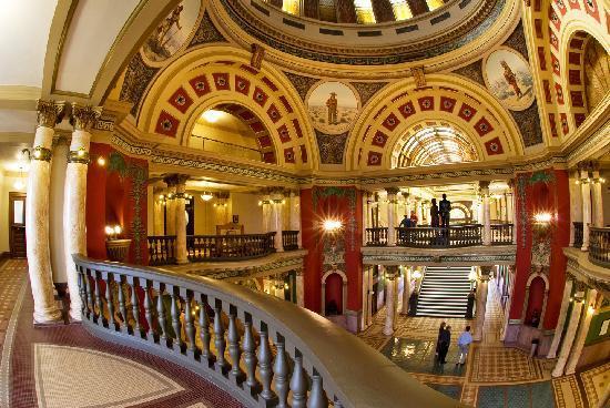 Capitol Building Rotunda Helena Montana Picture Of