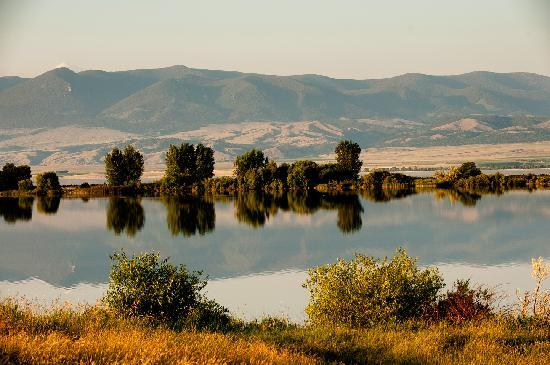Canyon Ferry Lake (east of Helena, Montana)