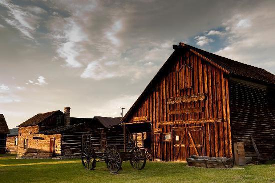 Barn Scene, Historic Nevada City, Montana