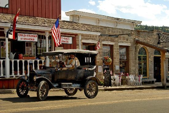 Living History, downtown Virginia City, Montana