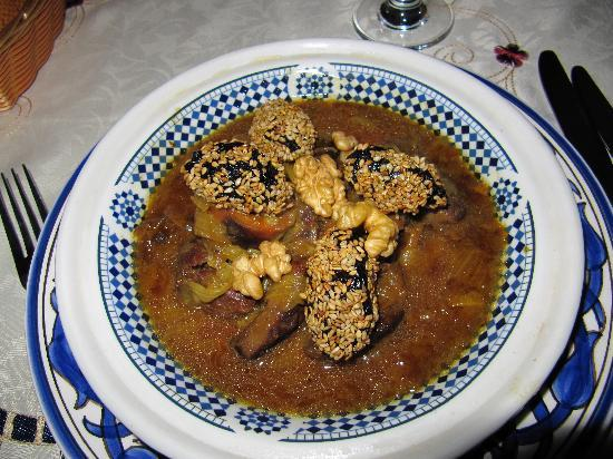 Riad-Boutique Borj Dhab Fez: The food! Yum!