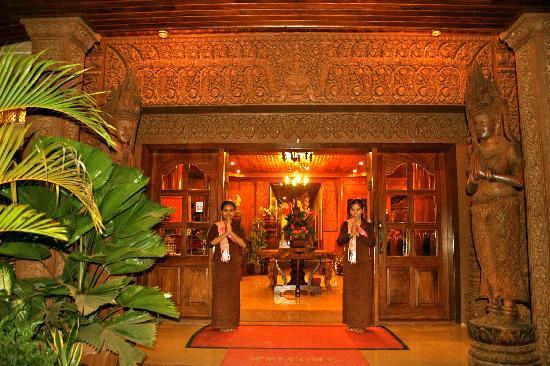 Shining Angkor Boutique Hotel: Greeting from Shining Angkor