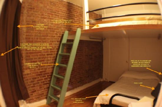 East 73rd and York Ave Apartment : Sample private room
