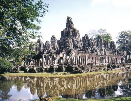 Siem Reap, Kamboçya: The Bayon at Angkor Wat Cambodia