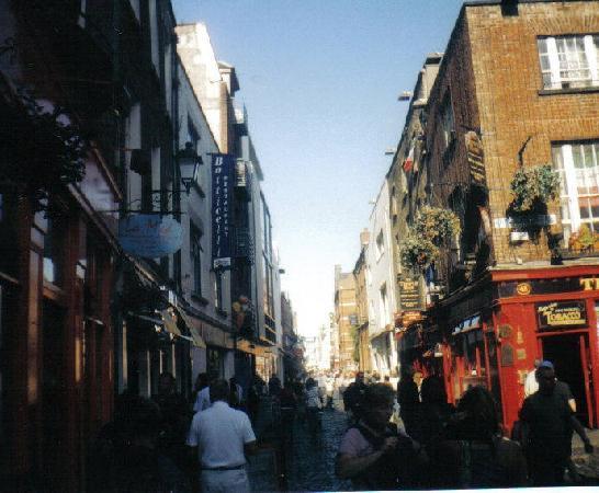 دبلن, أيرلندا: Temple Bar Dublin Ireland