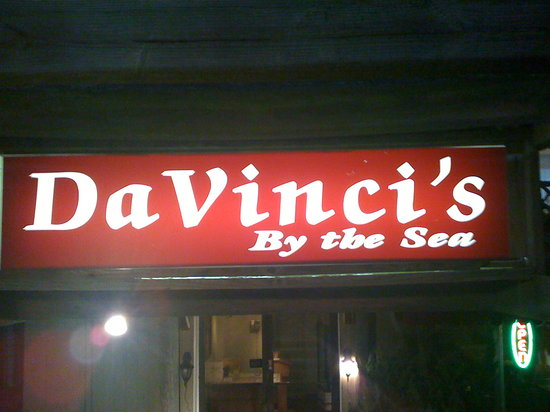DaVinci's By The Sea: place you have to try