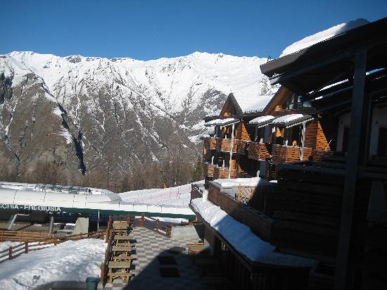 Bardonecchia, Italien: Our hotel