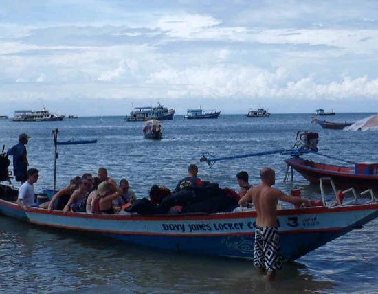 DJL longboat Koh Tao